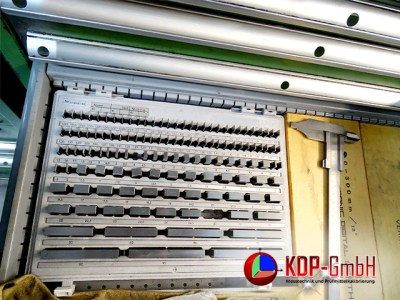 Gauge Block in Plastic Industry by KDP