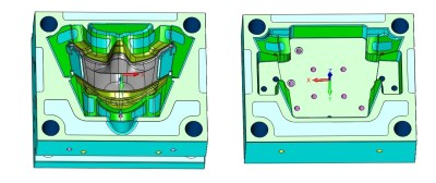 Mold plate in Injection Molding