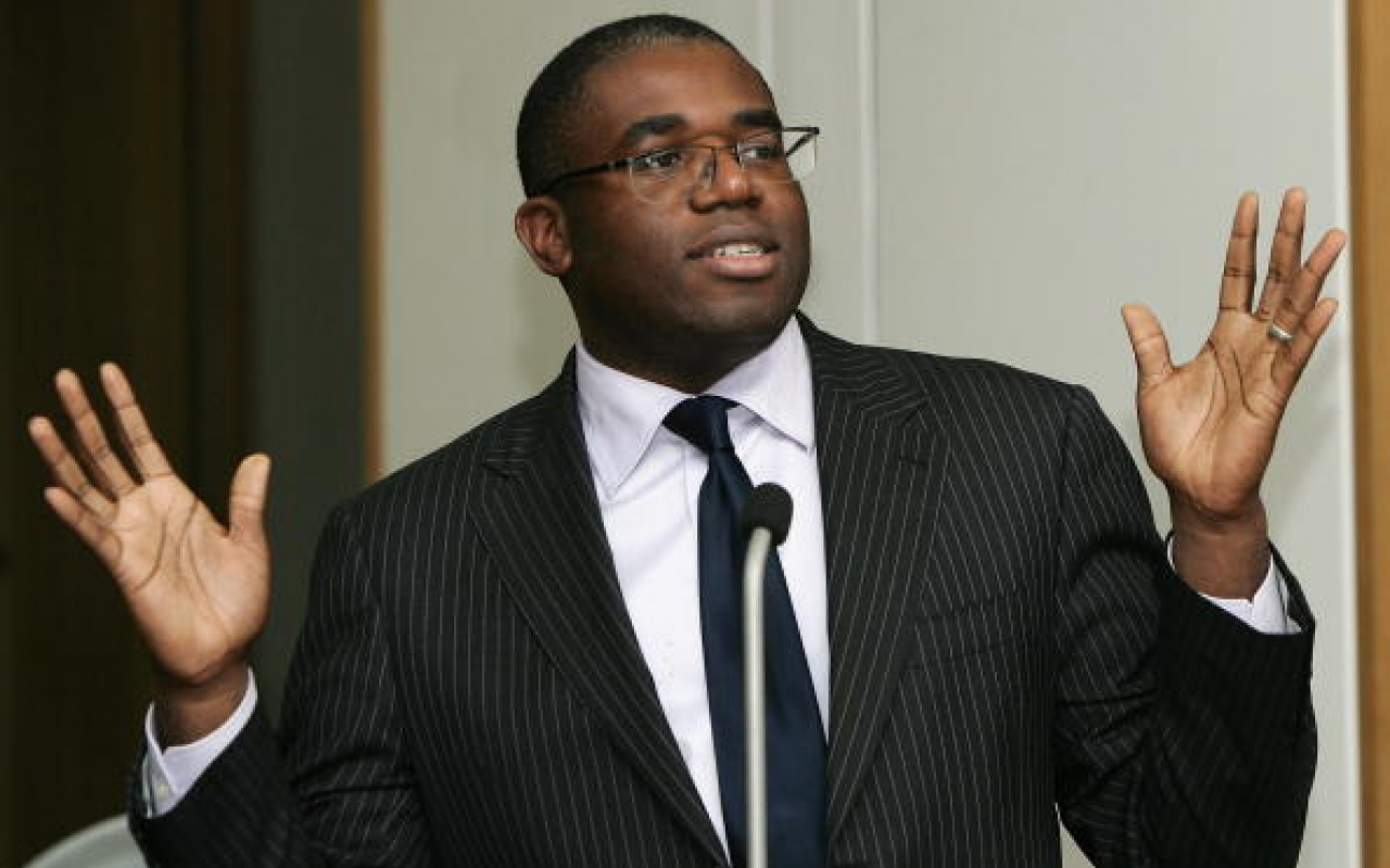 David Lammy to speak at Clinks' AGM