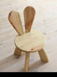 Beautiful and Interesting Bunny Chair for Your Kids