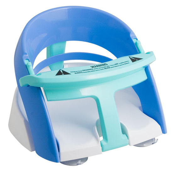 INFANT BATH SEAT WITH SUCTION CUPS BATH FANS