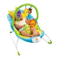 Let Your Baby Rest and Play on Happy Giraffe Bouncer ...