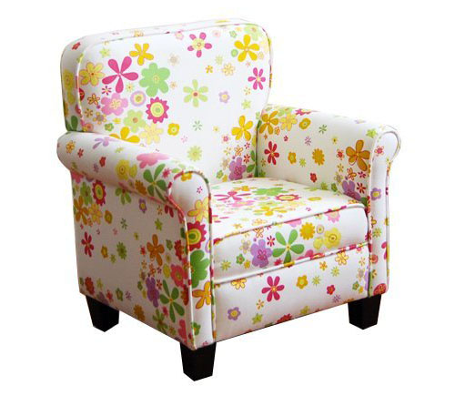 chair for toddler girl game table sets with chairs kinfine girls pink mini dot beautiful floral