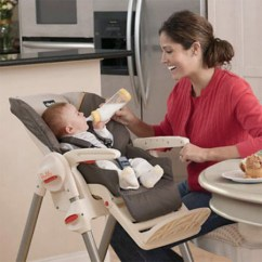 Infant Feeding Chair Red Bunjo Bungee Luna High Makes Baby Easier Than Ever Modern