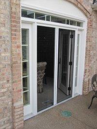 Double Doors - Retractable Screen Door by Screen Solutions ...