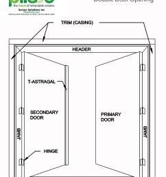 double door diagram wiring diagram for you [ 1371 x 1800 Pixel ]