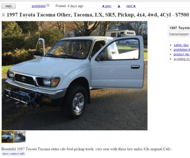 Craigslist Maine Cars Trucks | Bruin Blog