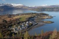 Plockton peninsula from Creag nan Garadh