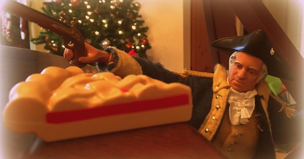 George Washington's Attack on Christmas Pies