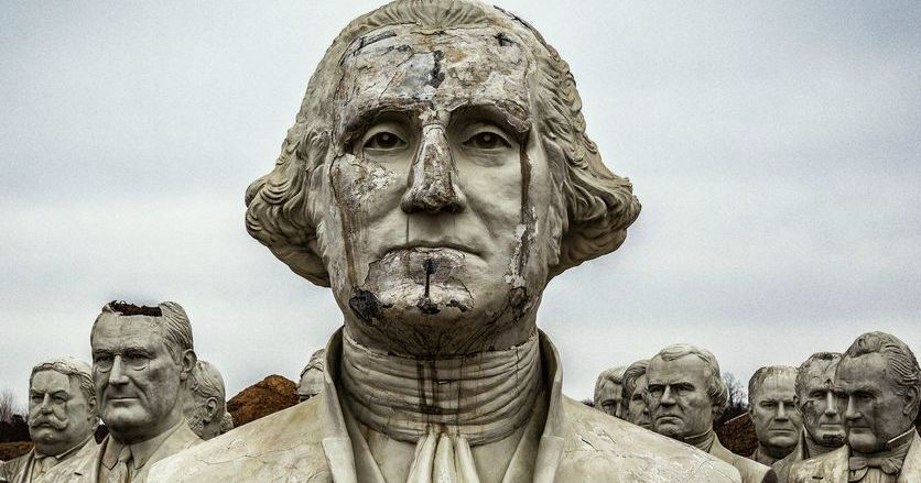 The Weirdest Statues of the American Presidents