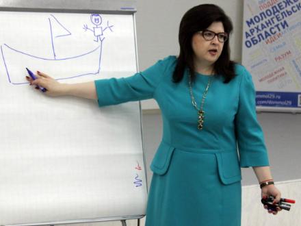 Лариса Плотницкая. Фото сообщества «Ты — предприниматель»