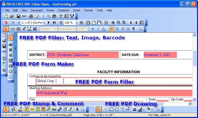 PDFill: Free PDF Editor. Free PDF Tools and Free PDF Writer