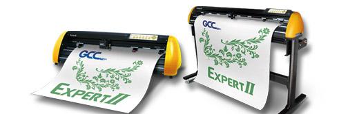 GCC Schneideplotter ohne Passermarkenlesung
