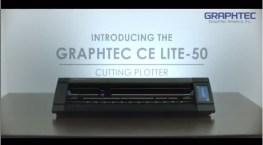 Einführungs- Video Graphtec CE Lite-50 Schneideplotter