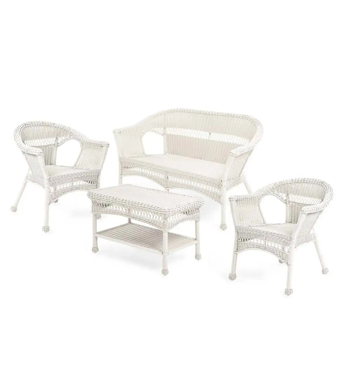 resin table and chairs set bath chair for babies easy care wicker love seat coffee