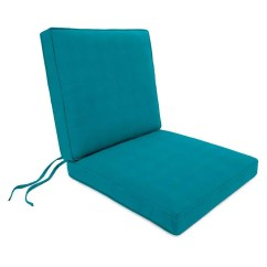 Chair Cushions With Tie Backs Hickory Sectional Deluxe Sunbrella Seat And Back Cushion
