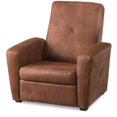 Microfiber Club Chair With Ottoman Round Folding Covers Chocolate Gaming Hidden Storage