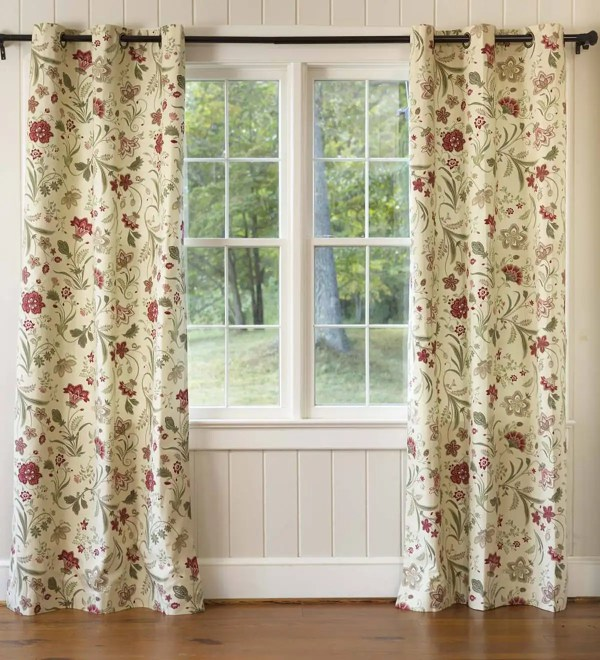 Jacobean Thermalogic Grommet-top Curtains Curtain Panels