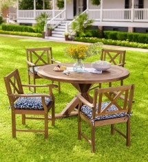 Claremont Eucalyptus Dining Table And Chairs