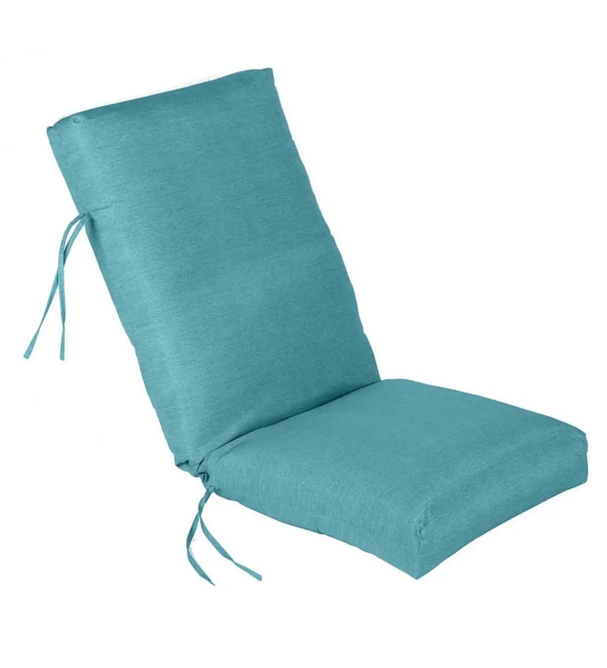 high back lawn chair cushions staples mat shenandoah outdoor cushion plowhearth