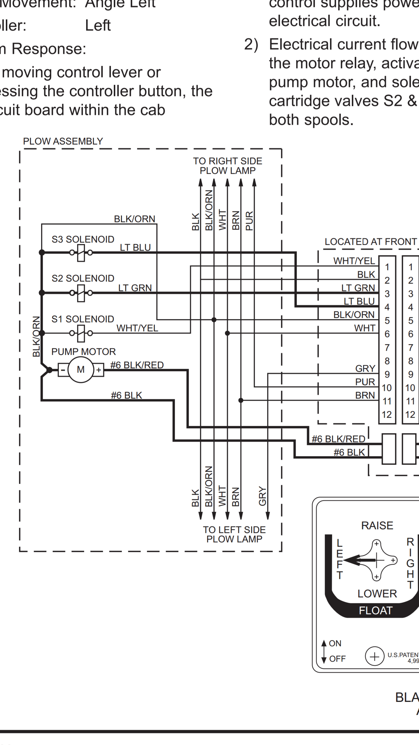 hight resolution of fisher insta act hd 8 ft mm1 wont turn left plowsite fisher mm1 wiring diagram