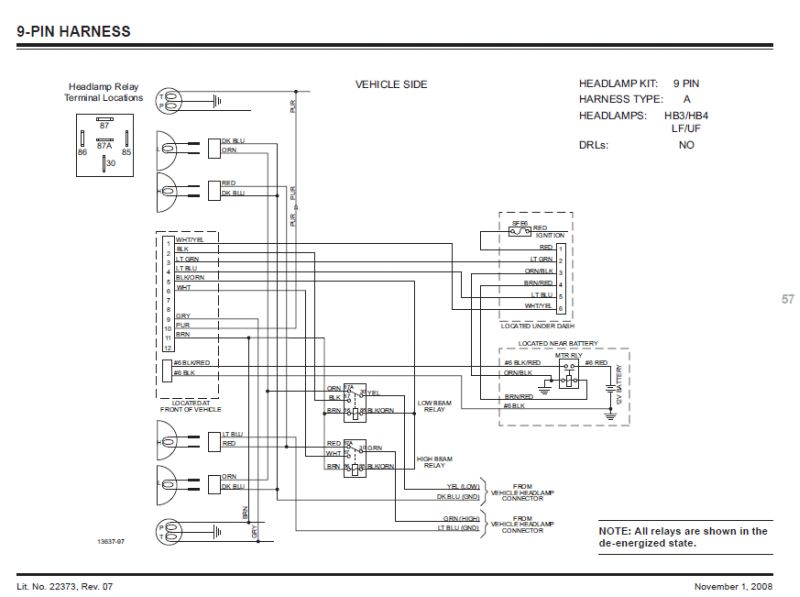 Western 9 Pin Wiring Harness Diagram : 36 Wiring Diagram