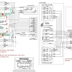 Western Unimount Plow Wiring Diagram 1996 Jeep Grand Cherokee Can 9pin Harness Be Connected To 12pin Plowsite I Printed Out The Wire Schematics And That What Came Up With
