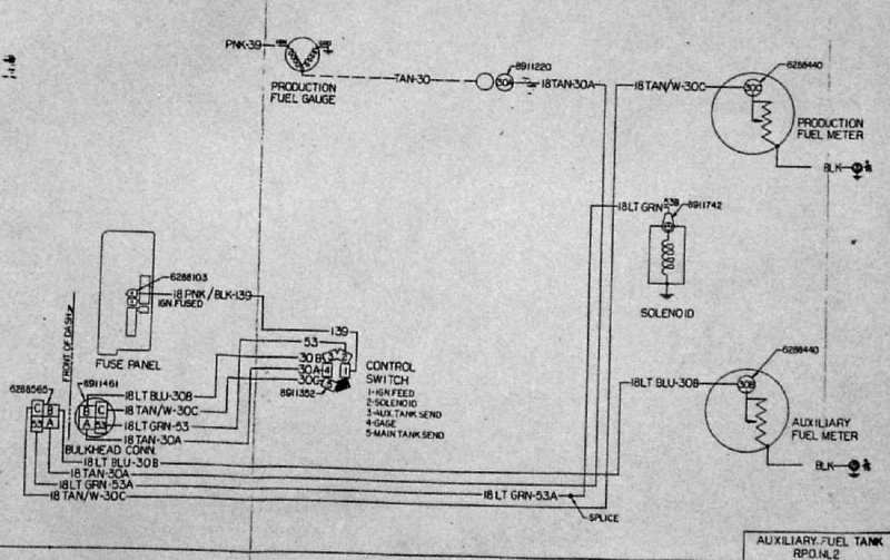 1986 Chevy K10 Wiring Diagram Can Anyone Help With The Wiring For Dual Tanks Plowsite