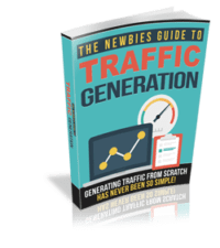 The Newbies Guide to Traffic Generation cover