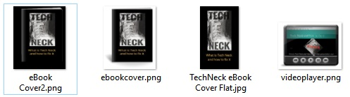 Tech Neck Product covers