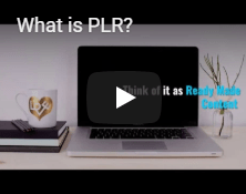 What is PLR Video