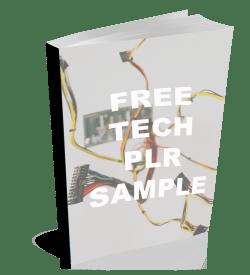 free Tech PLR cover