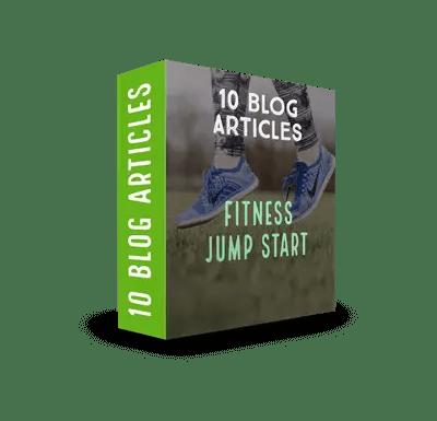 Fitness Jump Start PLR Article Pack