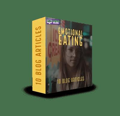 Emotional Eating PLR Articles Pack$7.99