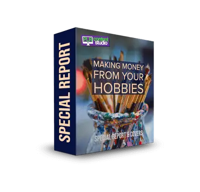 Making Money from Your Hobbies PLR Report$12.99