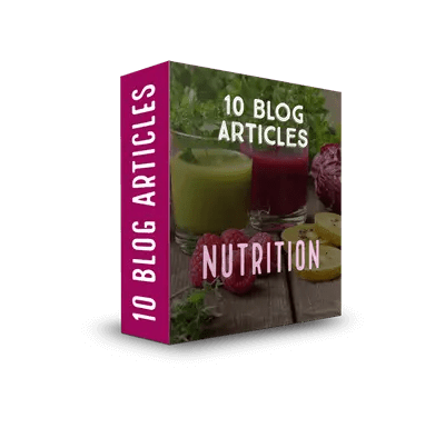 Nutrition PLR Article Pack 1