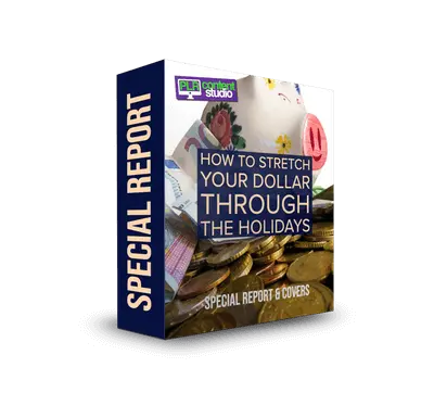 How to Stretch Your Dollar through the Holidays PLR Report$12.99