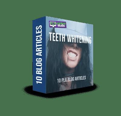 Teeth Whitening PLR Article Pack$7.99
