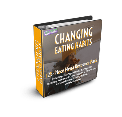 ⭐️SPECIAL EDITION ⭐️ Changing Eating Habits PLR Resource Pack$47.00
