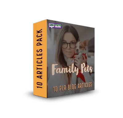 Family Pets PLR Article Pack$7.99