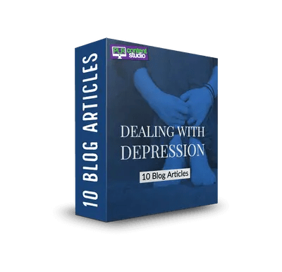 Dealing With Depression PLR Article Pack