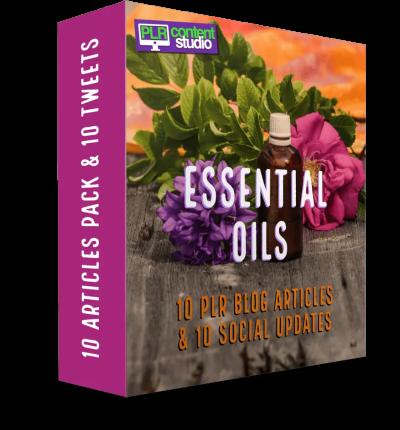 essential oils plr feat
