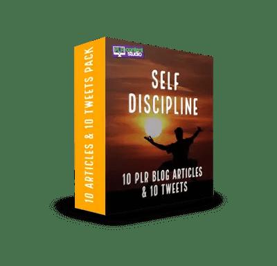 Self Discipline PLR Article & Tweet Pack