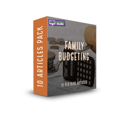 Family Budgeting PLR Article Pack$7.99