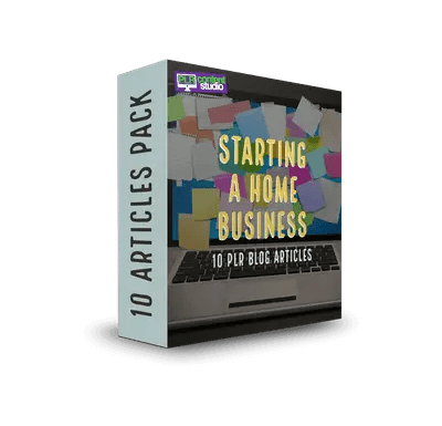 Starting a Home-Based Business PLR Article Pack