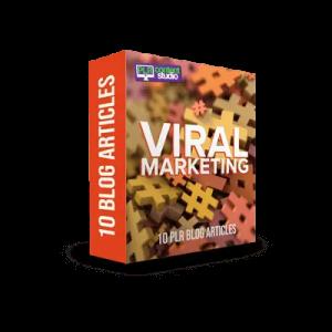 Viral Marketing PLR Articles Pack
