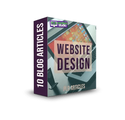 Website Design PLR Article Pack $7.99