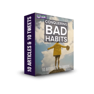 bad habits plr articles
