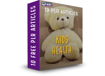 FREE-PLR-kids-health articles