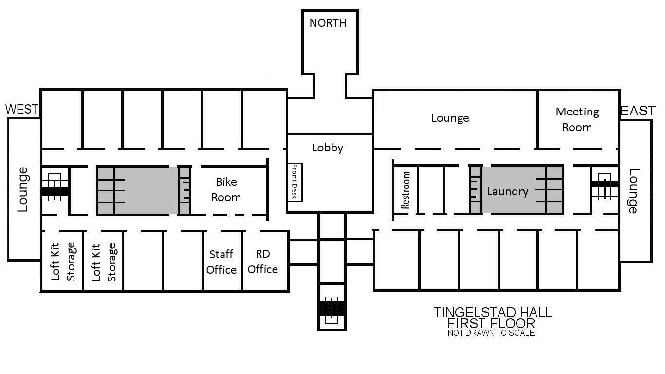 Tingelstad Hall Floor Plans  Residential Life  PLU